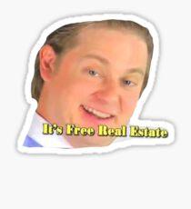 It's Free Real Estate Sticker