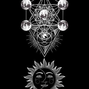 Dark Metatron Third Eye by sakharoth