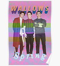 Walls Frühling Poster