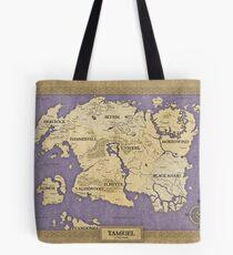 Elder Scrolls map - Tamriel Tote Bag