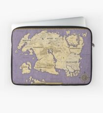 Elder Scrolls map - Tamriel Laptop Sleeve