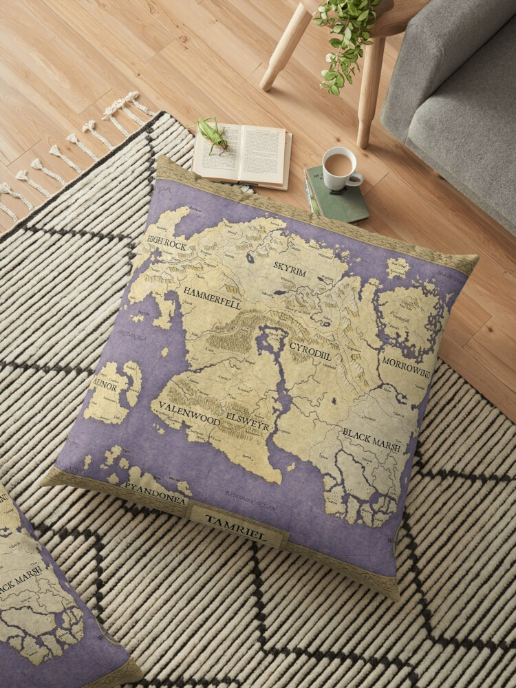 Elder Scrolls map - Tamriel\