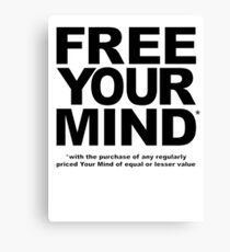 Free Your Mind* Canvas Print