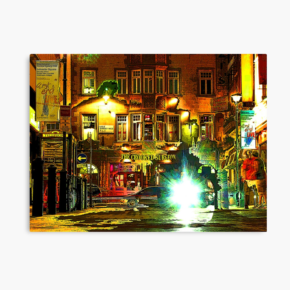The Crooked Surgeon Canvas Print