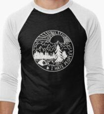 I-hate-People Men's Baseball ¾ T-Shirt