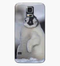 Half Asleep Emperor Penguin Chick - Snow Hill Island  Case/Skin for Samsung Galaxy
