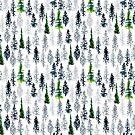 Fir Trees Pattern by Cathryn Worrell