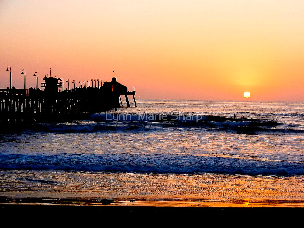 Quot Imperial Beach Sunset Quot By Marie Sharp Redbubble
