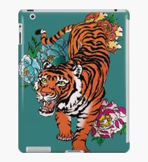 Tiger chinesisch inspiriert iPad-Hülle & Klebefolie