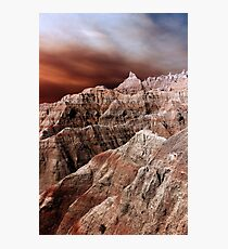 Badlands National Park .3 Photographic Print
