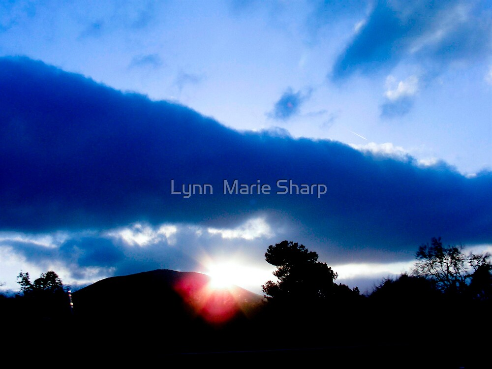 San Diego Skyscape  by Marie Sharp