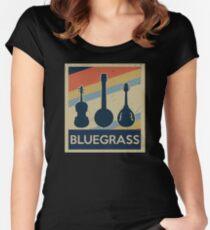 BlueGrass Women's Fitted Scoop T-Shirt