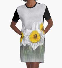 Daffodils Graphic T-Shirt Dress