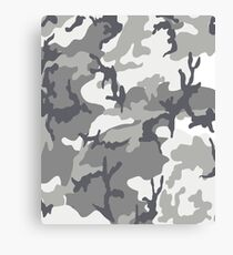 Urban Camouflage Pattern Canvas Print
