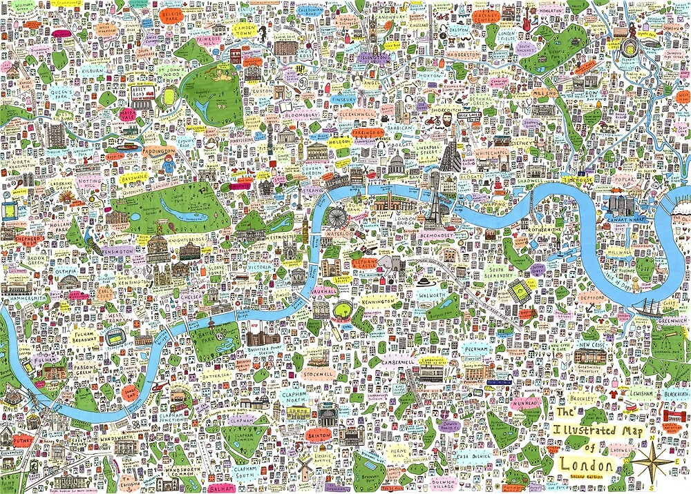 Germany, Ethnic, Cultural, Fun and Humor Cartoon City Map by Melody Koert