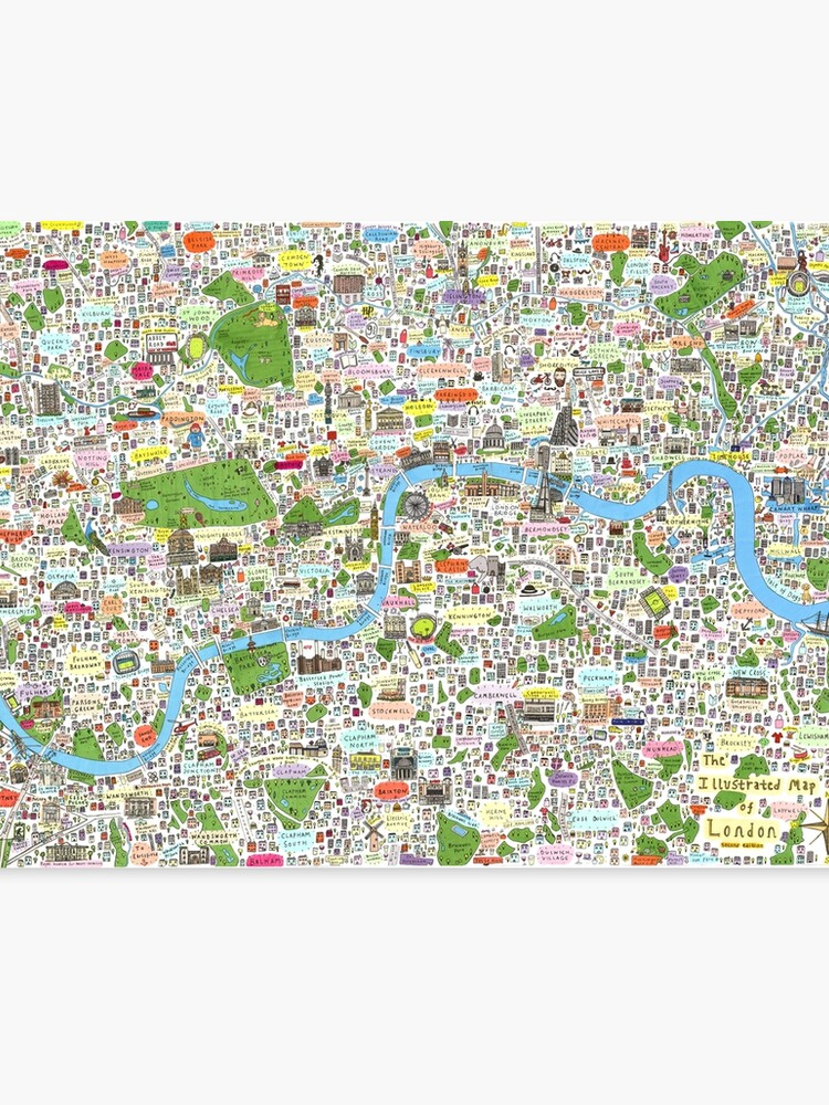 Cartoon Map Of Germany.Germany Ethnic Cultural Fun And Humor Cartoon City Map Canvas Print