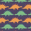 Stegosaurus Stripe by zoel