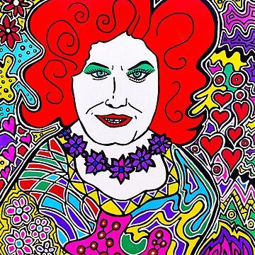 Ruby Drag Queen by DustyO