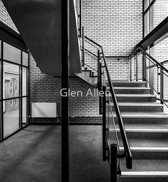 Staircase Mono by Glen Allen