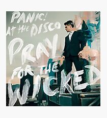 panic pray for the wicked tour 2018 soenda Photographic Print