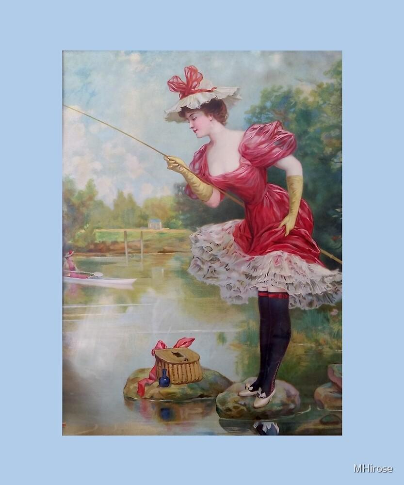 The Dainty Art Of Fishing by MHirose