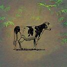 Holstein Cow by David Dehner