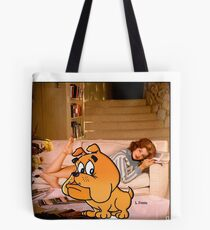I Will Not Move Away Tote Bag