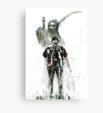 No Heroes Canvas Print