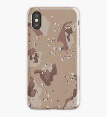 Desert Camouflage Pattern iPhone Case