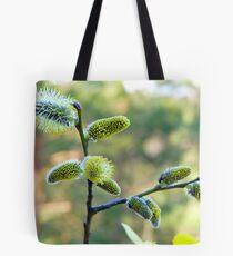 Salix Blossoms Tote Bag