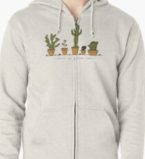 Plants Are Friends  Zipped Hoodie