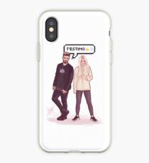 Agoney & Nerea - OT2017 iPhone Case