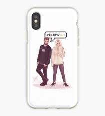 Agoney & Nerea - OT2017 iPhone Case