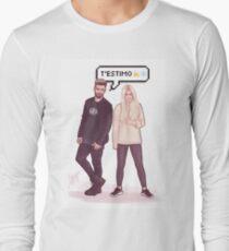 Agoney & Nerea - OT2017 Long Sleeve T-Shirt