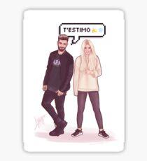 Agoney & Nerea - OT2017 Sticker