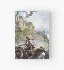 Horizon Zero Dawn, Aloy living in a world... Hardcover Journal