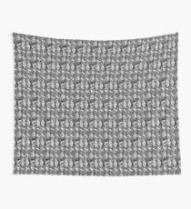 Peek-a-knit Wall Tapestry