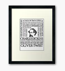 Dickens Framed Print