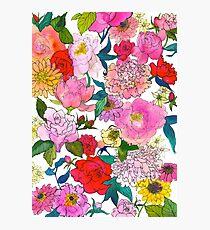 Peonies & Roses Photographic Print