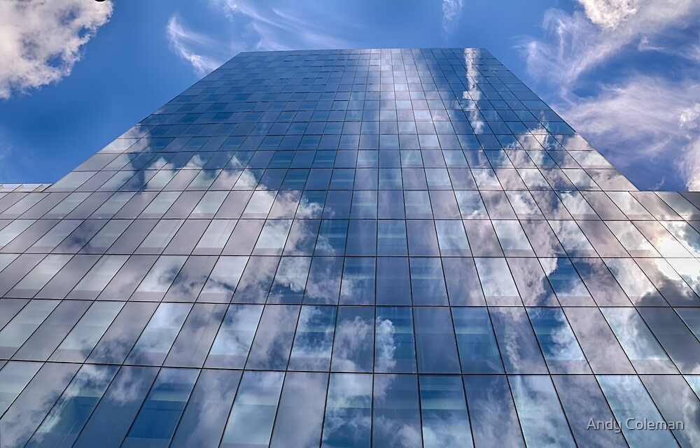 Cloud Office Building by Andy Coleman