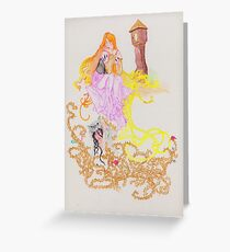 The Oral Tradition of Rapunzel Greeting Card