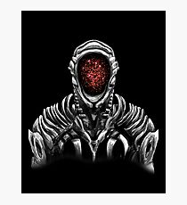 Lost In Space Robot (Red) Photographic Print