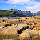 Blaven 3   Isle  of  Skye by Alexander Mcrobbie-Munro