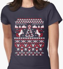 An Ugly Pokemon Christmas Womens Fitted T-Shirt