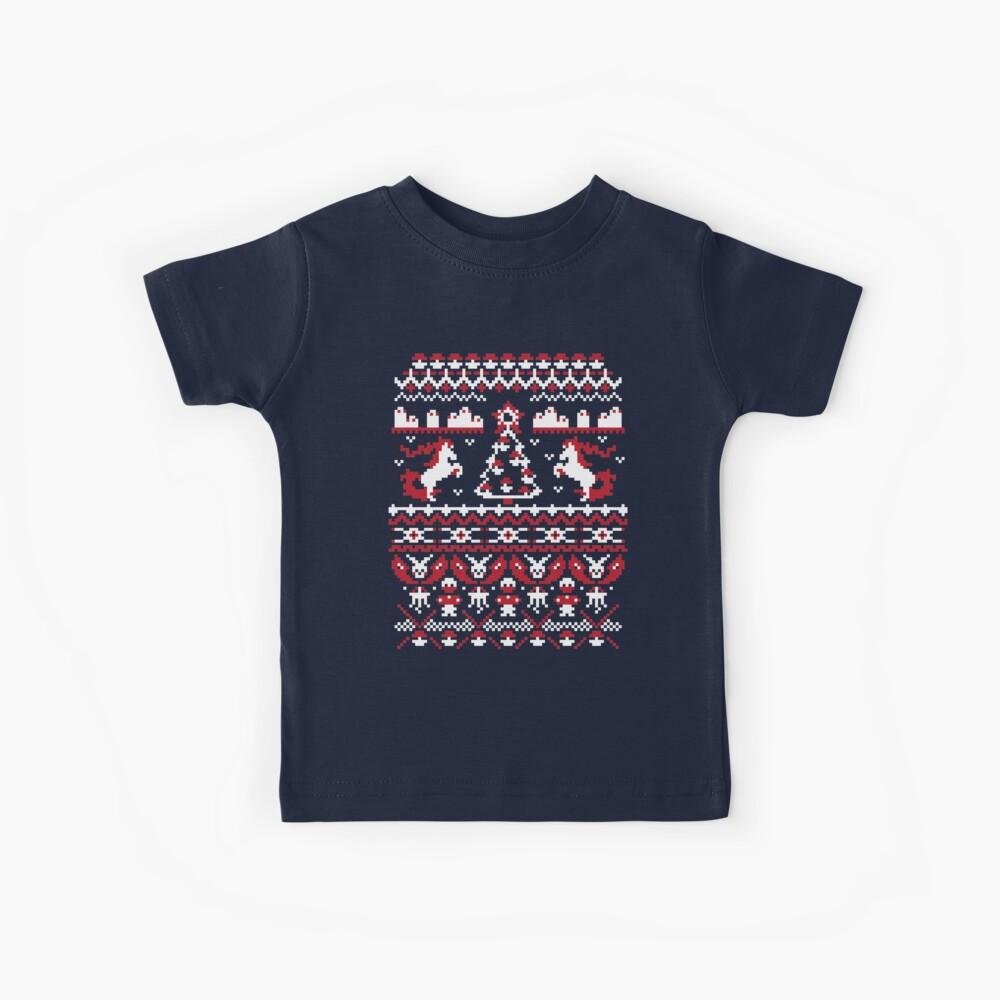 Ein hässliches Pokemon-Weihnachten Kinder T-Shirt