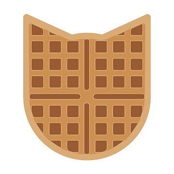 Waffle Cat by Mirumitsu
