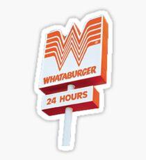 whataburger sign Sticker