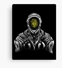 Lost In Space Robot (Yellow) Canvas Print