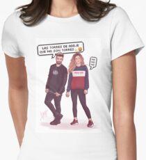 Agoney & Miriam - OT2017 Women's Fitted T-Shirt