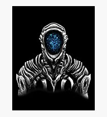 Lost In Space Robot (Original Blue) Photographic Print
